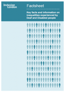IL_Inequalities experienced by Deaf and Disabled People Factsheet 2015