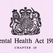 Briefing on the government's announcements concerning the Mental Health Act 1983 Review